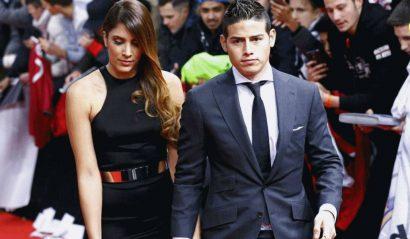 Culpan a Zidane por la ruptura de James Rodriguez y Daniela - Entretengo