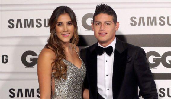 Así se repartirán los bienes de James Rodriguez y Daniela Ospina