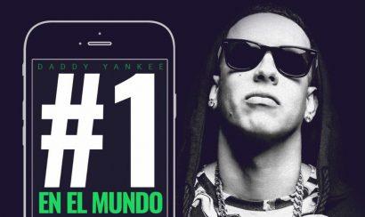 Daddy Yankee ocupa el primer lugar en Spotify a nivel mundial