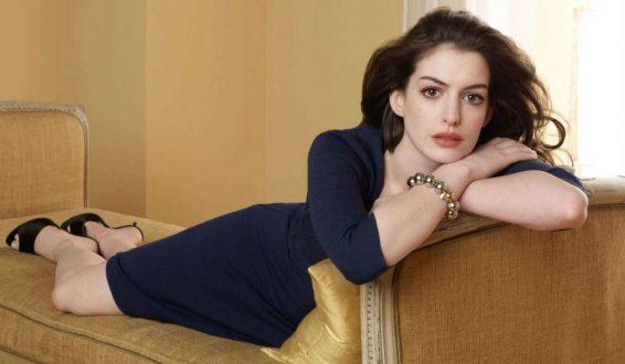 Se filtran en internet fotos íntimas de la actriz Anne Hathaway