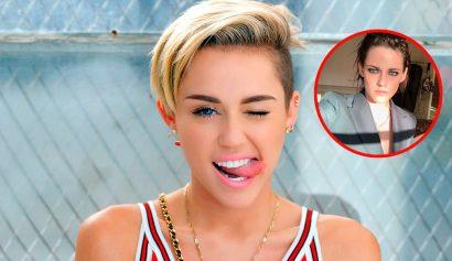 Filtran fotos íntimas de Kristen Stewart y Miley Cyrus - Entretengo