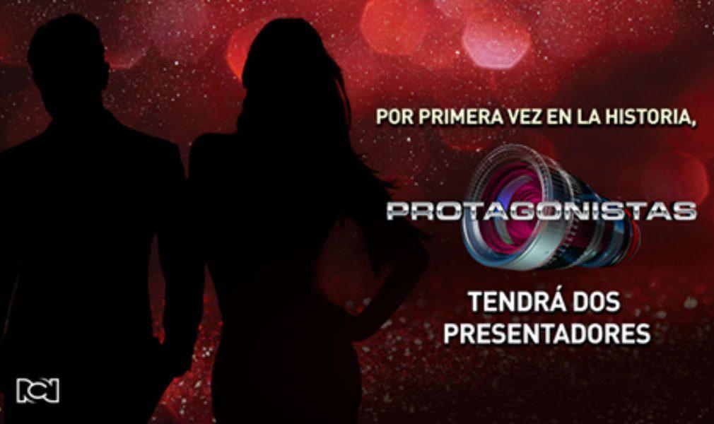 Este año Protagonistas RCN tendrá por primera vez dos presentadores