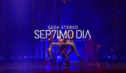 Montaje espectáculo de Soda Stereo por Circo del Sol - Entretengo