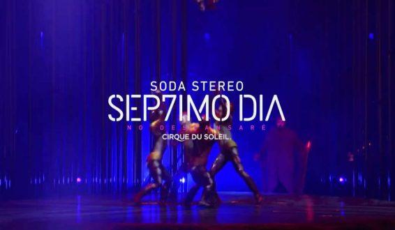 Inicia montaje de homenaje a Soda Stereo por el Circo del Sol
