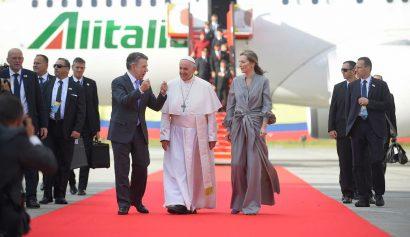 Así fue el segundo día del Papa Francisco en Colombia