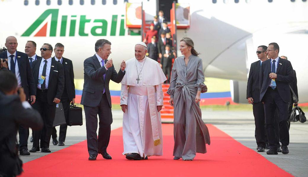 Así fue el segundo día del Papa Francisco en Colombia - Entretengo