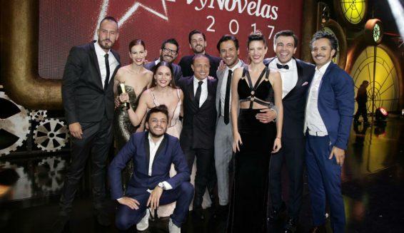 Lista completa de ganadores de los Premios TVyNovelas 2017
