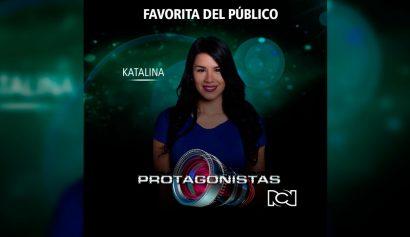 Katalina protegida del público en Protagonistas RCN - Entretengo