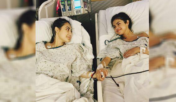 Selena Gomez se somete a transplante de riñón y comparte la foto