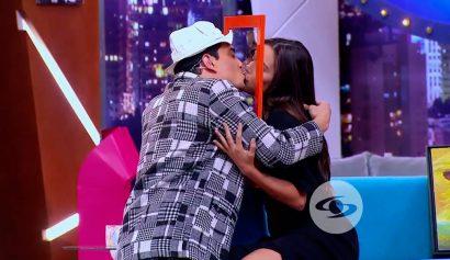 El beso de María Laura Quintero y Suso que está dando de que hablar