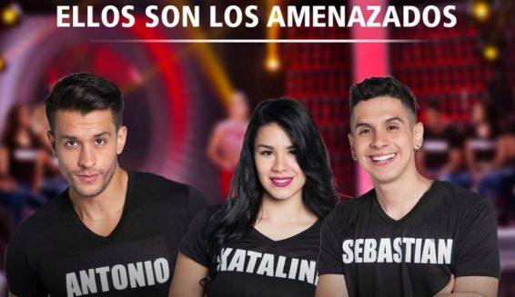Antonio, Katalina y Sebastian son amenazados en Protagonistas RCN