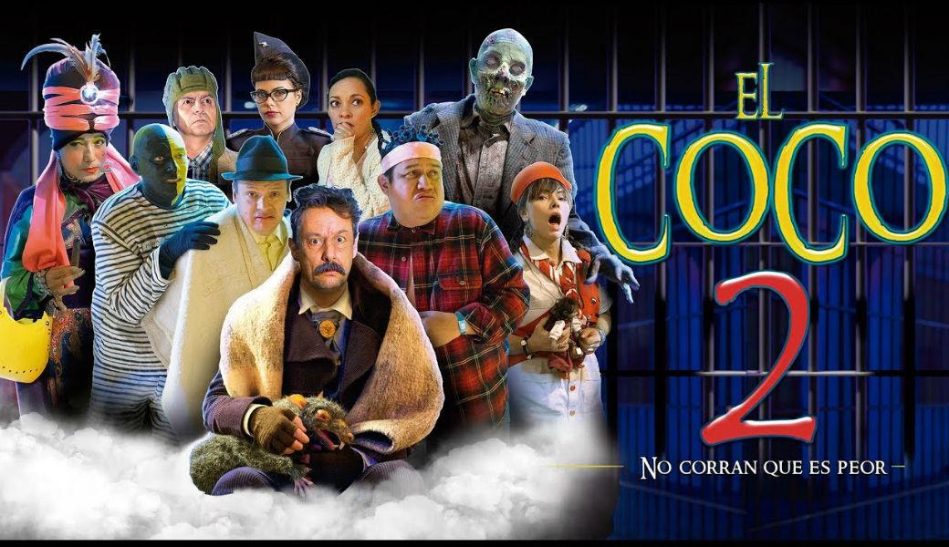Película El Coco 2 fracasó en la taquilla colombiana