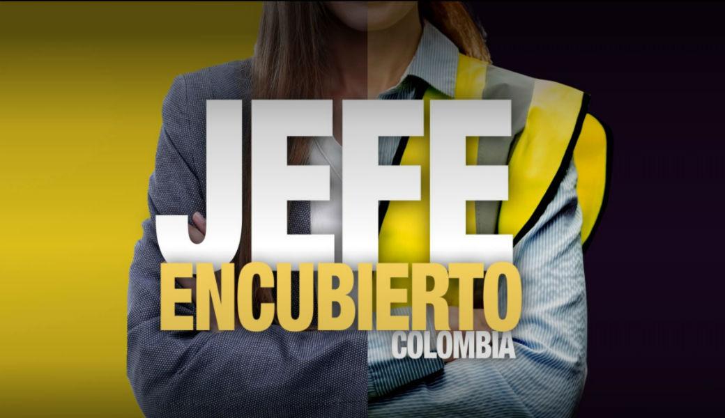 Canal RCN produce versión colombiana de 'Jefe Encubierto'