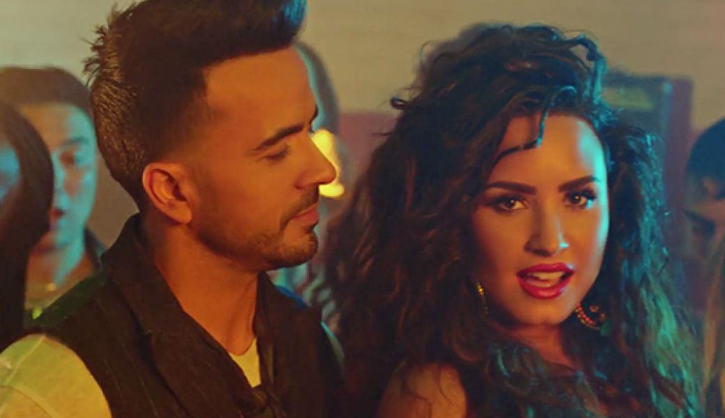 Luis Fonsi presenta 'Échame la culpa' junto a Demi Lovato