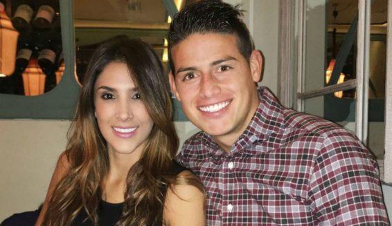 James Rodrígez y Daniela Ospina se habrían reconciliado