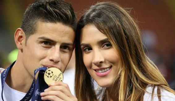James Rodíguez y Daniela Ospina pasaron la navidad juntos