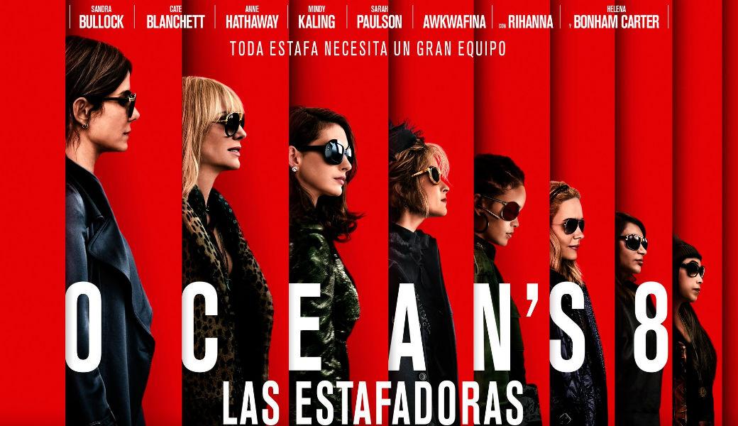 Warner Bros revela trailer de la comedia Ocean's 8