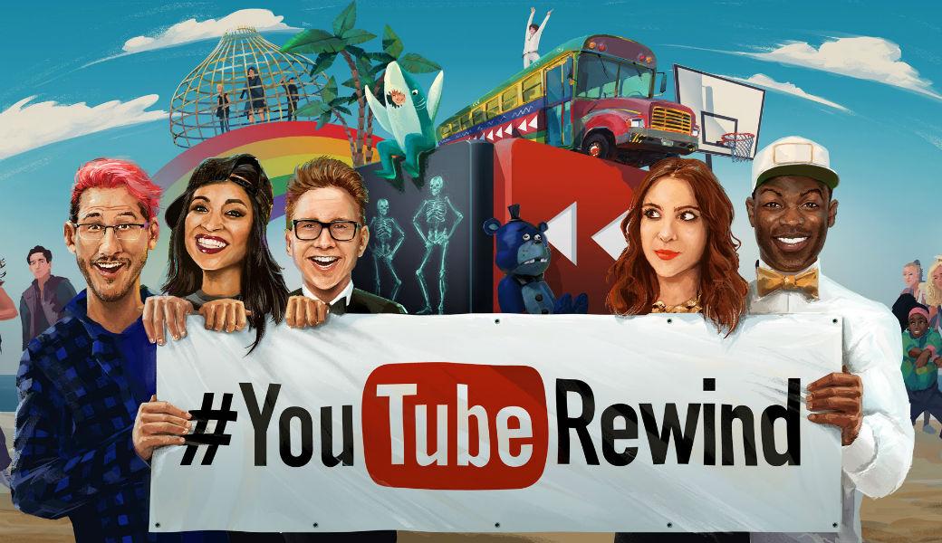 Youtube lanza su video oficial de Rewind: The Shape of 2017