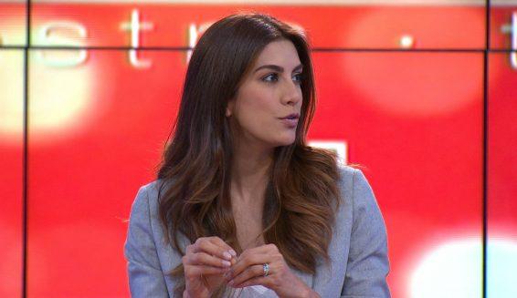 insultan a la presentadora Andrea Serna en redes sociales