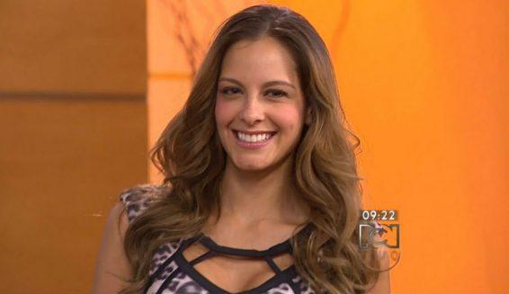 Laura Acuña baila 'Twerking' en Muy buenos días