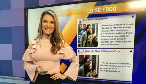 Luisa Builes se habría retirado de 'Lo sé todo' del Canal 1