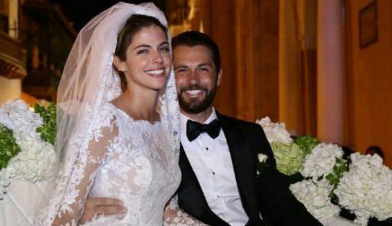 Stephanie Cayo se casó con Chad Campbell en Cartagena