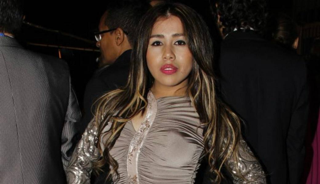 Yina Calderón se desnuda en redes sociales