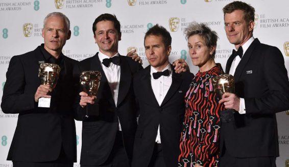 Estos fueron los ganadores de los Premios BAFTA 2018