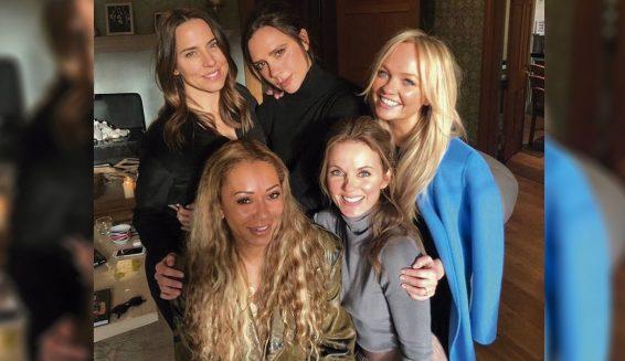 Foto de las Spice Girls reunidas tiene a los fans ilusionados