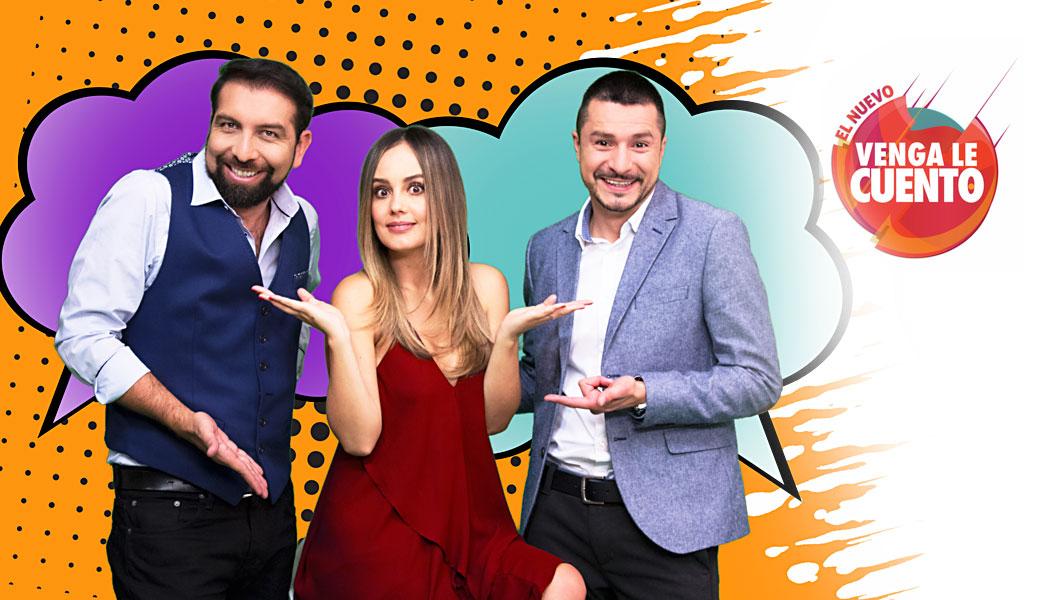 Canal 1 anuncia estreno de nueva temporada de 'Venga le cuento'