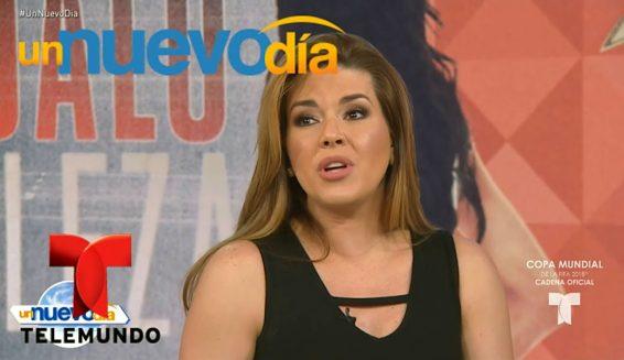 Alicia Machado habló por primera vez del escándalo de Miss Venezuela