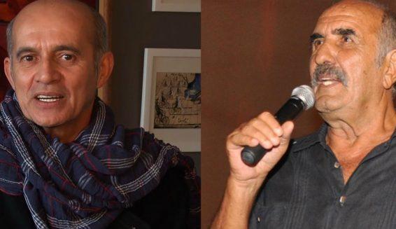 Jairo Camargo se besa con Salvo Basile en los Premios India Catalina