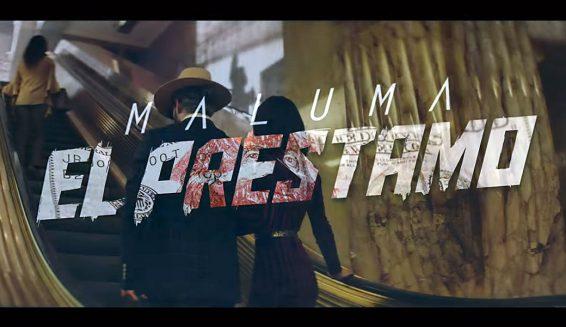 Maluma presentó el video de su canción 'El Préstamo'