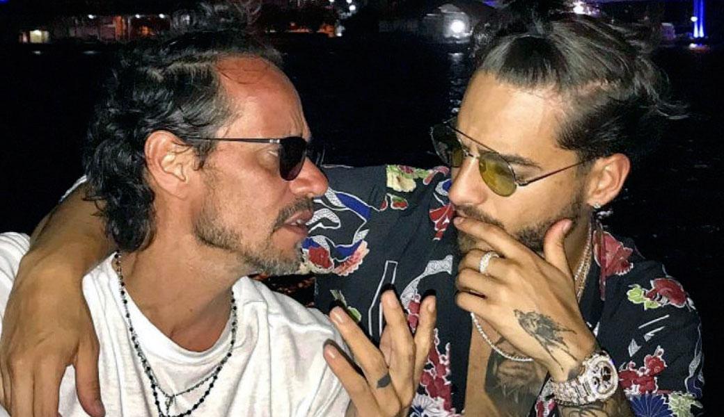 En duda sexualidad de Marc Anthony y Maluma por cuenta de un video