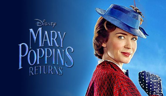 Disney revela trailer de 'El regreso de Mary Poppins'