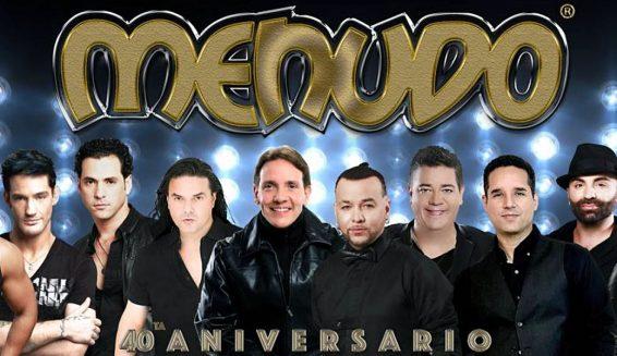 Menudo regresa en concierto para celebrar sus 40 años