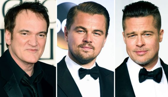 Brad Pitt y Leonardo DiCaprio estarán en nuevo film de Quentin Tarantino
