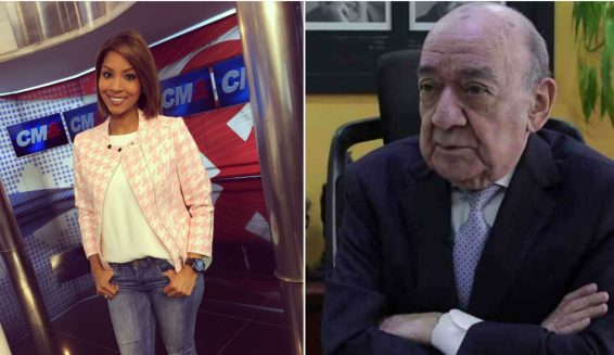 Yamid Amat despide a Cathy Bekerman de CM& por no persignarse al aire