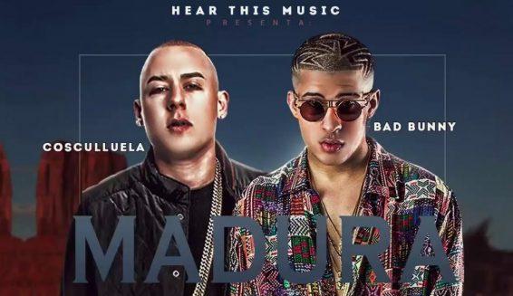 Cosculluela y Bad Bunny presentan el video de la canción 'Madura'