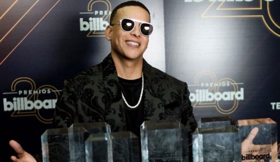 Daddy Yankee arrasa en los Premios Billboard Latino 2018