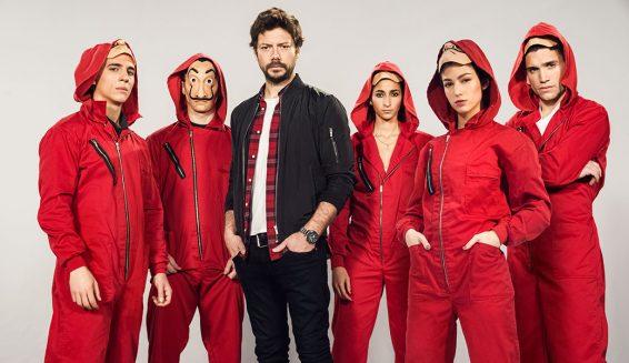 Netflix confirma tercera temporada de 'La Casa de Papel'