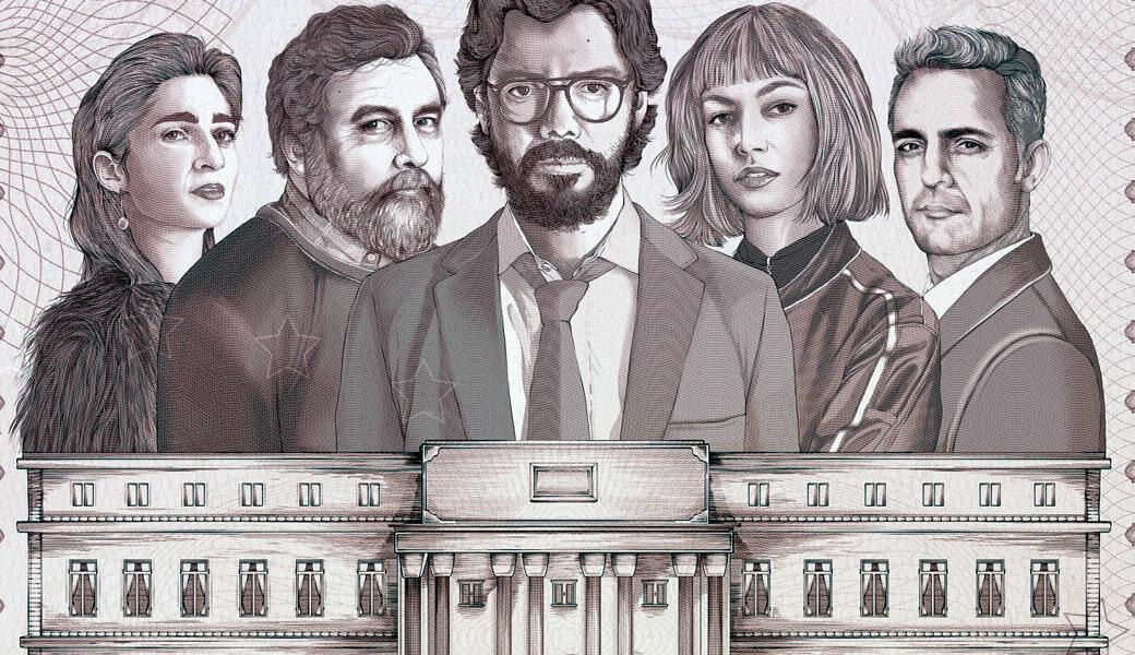 La historia de 'La Casa de Papel' sería la historia de robo ocurrido en Argentina