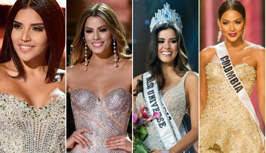 Top 10 'Señorita Colombia' más queridas de la historia