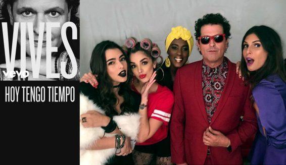Estas cuatro famosas estarán en nuevo video de Carlos Vives