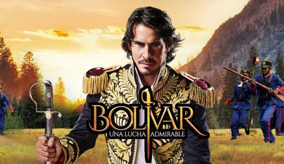 Nuevas imágenes de la serie 'Bolivar, Una lucha admirable' del Canal Caracol