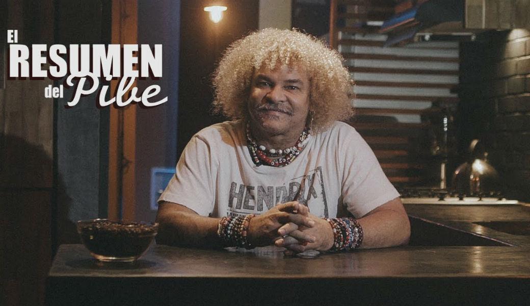 El Pibe Valderrama cae en una broma mientras transmitía en vivo