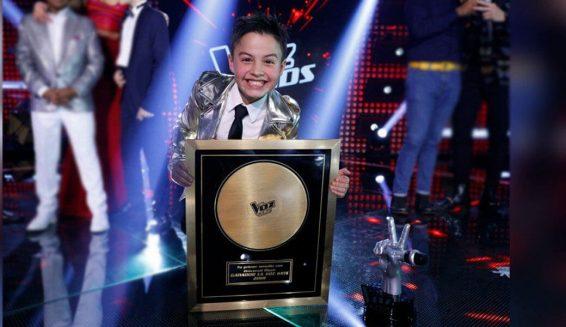 Juanse Laverde del equipo Yatra es el ganador de La Voz Kids 2018