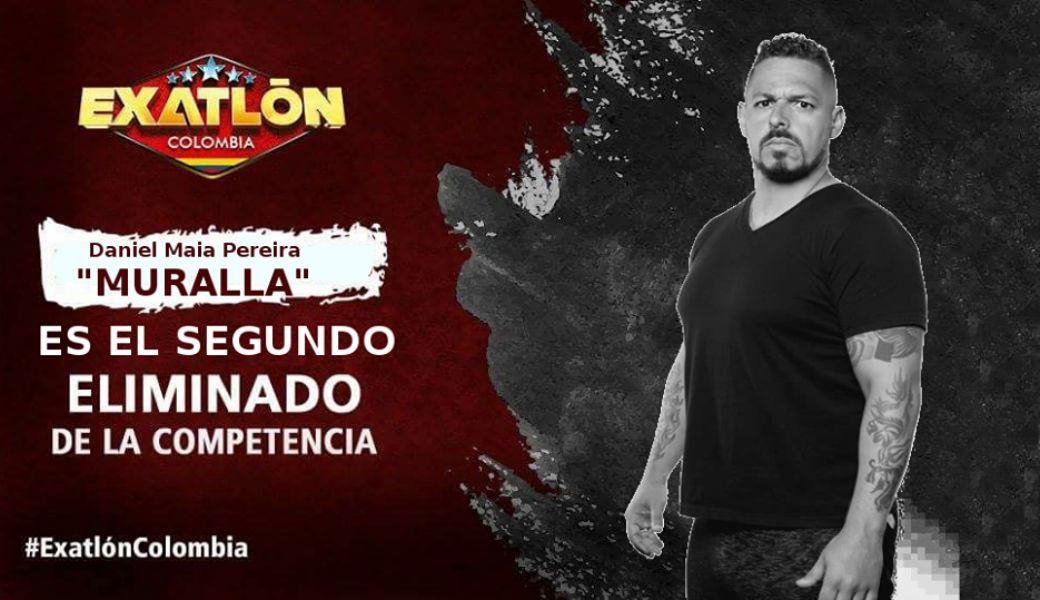 Muralla se convierte en el segundo eliminado de Exatlón Colombia