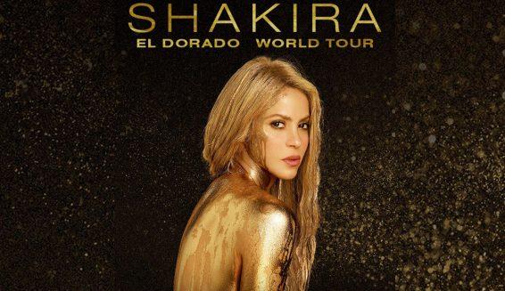Inicia venta de boletas para concierto de Shakira en Colombia