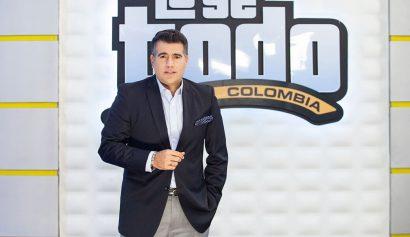 Carlos Calero llega al Canal 1 al programa 'Lo Sé Todo Colombia'